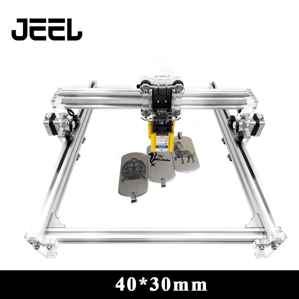 0.5 W/2.5 W/3.5 W/5.5 W/15 W CNC machine de gravure Laser 40*30mm S12Axis DC 12V bricolage bois routeur Laser Cutter/imprimante/+ Laser lunettes