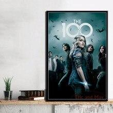 Carteles e impresiones de la nueva temporada 100, Cuadros de lienzo de la serie Hot TV, Cuadros decorativos de decoración del hogar para sala de estar