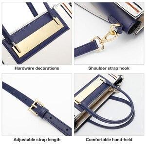 Image 4 - FOXER Rindsleder Leder Büro Dame Chic Geldbörse Luxus Messenger Taschen für Mode Weibliche Hohe Kapazität Frauen Handtasche Elegante Totes
