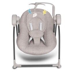 Mecedora eléctrica para bebé, cuna cómoda para bebé, mecedora reclinable