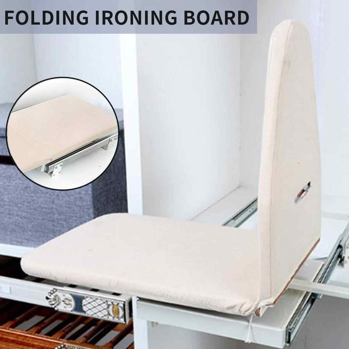 Wooden Ironing Board Pull Out