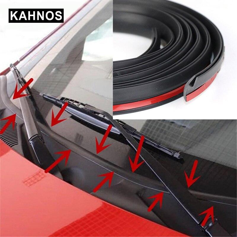 1 ~ 8 м резиновое уплотнение ветрового стекла спереди и сзади лобовое стекло люк прокладки уплотнения пыле уплотнительная лента для Авто при...