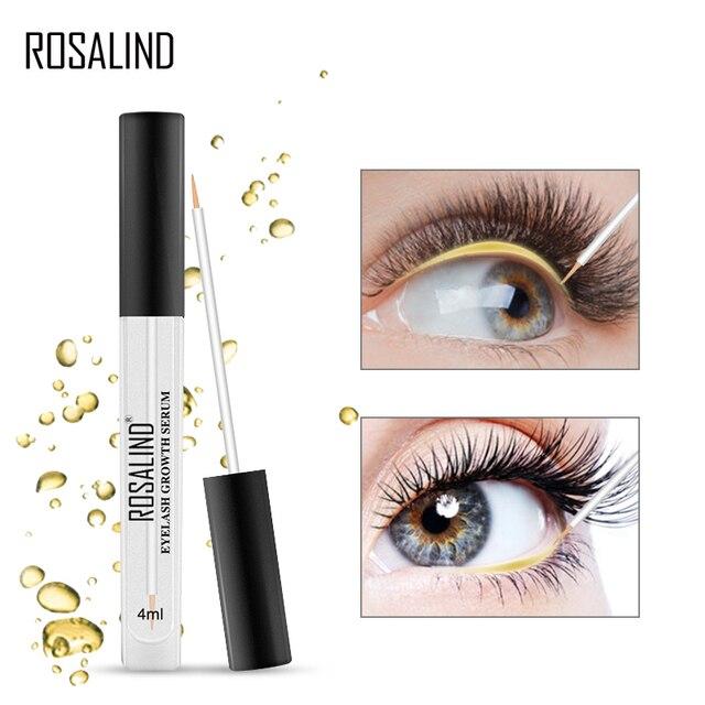 ROSALIND Eyelash Enhancer Lamination Growth Eyelash Serum Professional Longer Eyebrows Enhancer Natural Eye Makeup Lash Lift