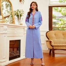Ramadan Eid Abaya musulmana Dubái hiyab árabe Turquía vestidos para las mujeres ropa Islam bata Longue Djelaba mujer Kaftan