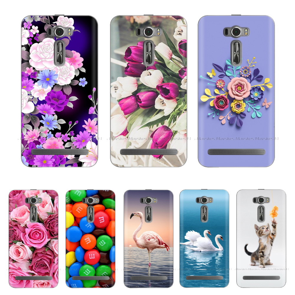 Case For <font><b>Asus</b></font> Zenfone 2 Laser ZE500KL Shockproof Soft TPU Case For <font><b>Asus</b></font> ZenFone 2 Laser ZE 500KL ZE500KG <font><b>Z00ED</b></font> Z00RD Cover Funda image