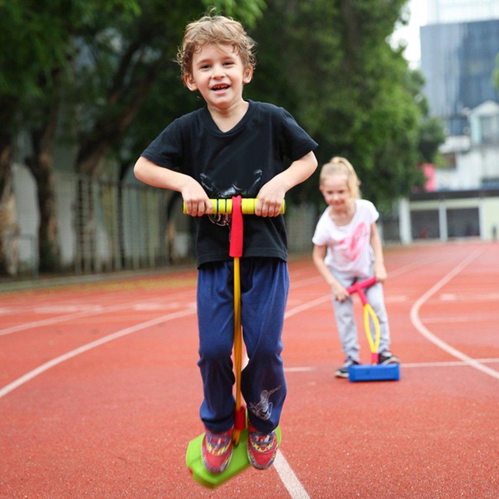 Interativo para Crianças Pçs de Brinquedo ao ar Livre Esportes Espuma Pogo Jumper Salto Sapato Sapo Jogo Destreza Balanceamento Treinamento Brinquedo 1