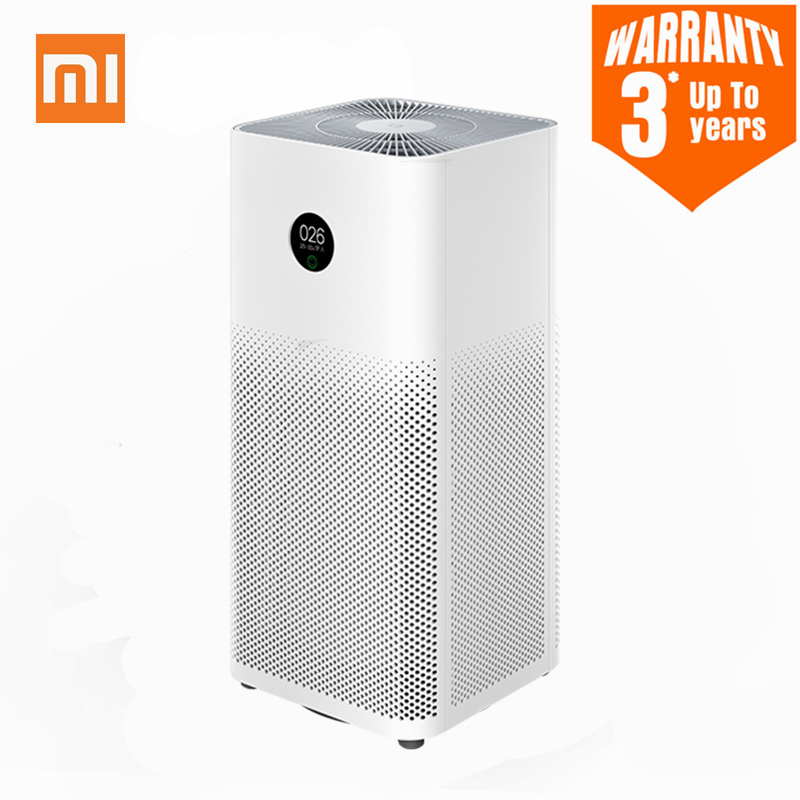 XIAOMI MIJIA Air Purifier 3 3H Filter Mi Air Cleaner Fresh Ozone home auto Smoke formaldehyde sterilizer Cube Smart APP Control|Air Purifiers|   - AliExpress