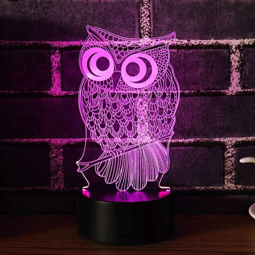 Светильник, держатель для лампы, сенсорные Цоколи, Светящиеся современные романтические 3D с пультом дистанционного управления, 7 цветов, домашний подарок, свадебный декор, для помещений