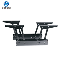 Betoci 2PCS Folding Spring Coffee Table Hinges Functional Furniture Lifting Coffee Computer Desk Shelf Furniture Hardware