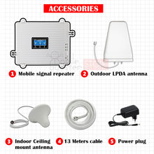Repeater gsm 2g 3g 4g cellular amplifier 900+1800+2100 GSM UMTS LTE 4G signal booster network booster signal amplifier Repeater