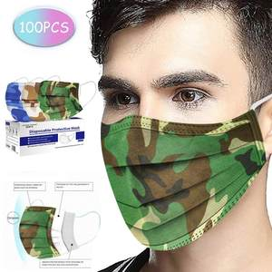 Cotton Handkerchief Ear-Loop Disposable Face-Sunscreen 3ply Towels Cheveux--9 Foulard