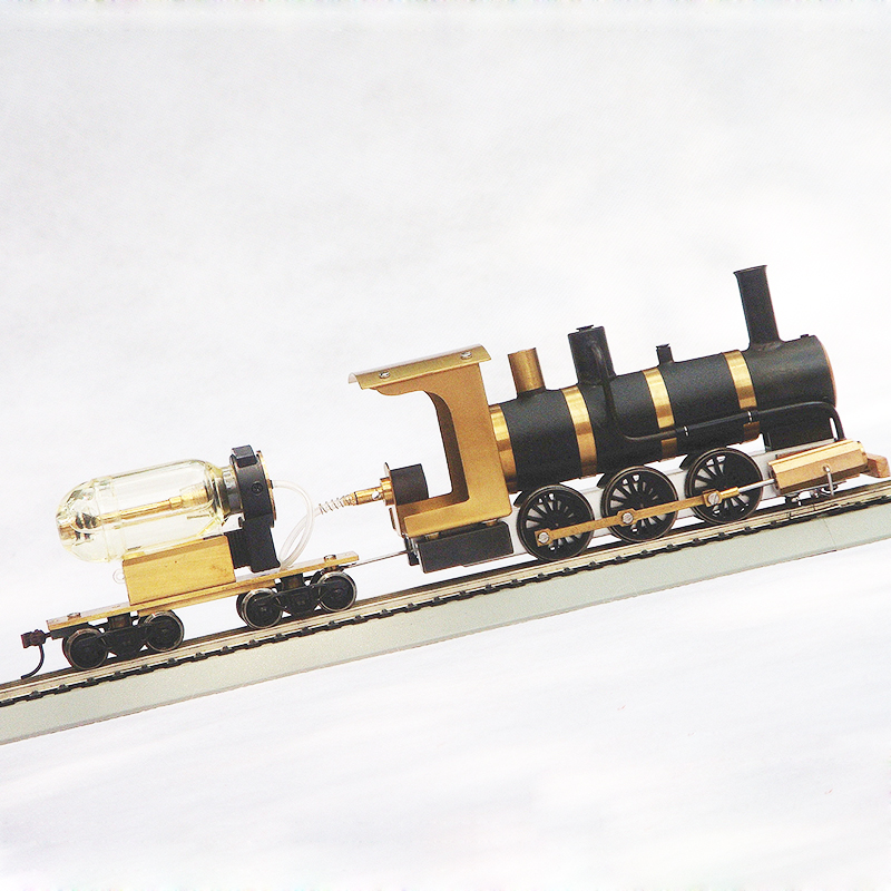 Image 2 - Steam Train Model Steam Locomotive Model Steam Drive HO Proportion Live Steam EngineModel Building Kits   -