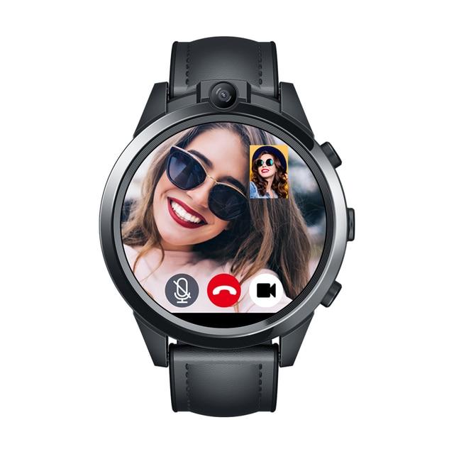 Zeblaze THOR 5 PRO montre intelligente hommes processeur 3GB + 32GB ROM 5.0MP double caméras Fitness Tracker moniteur de fréquence cardiaque 4G Smartwatch