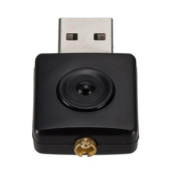 USB Mini DVB-T RTL-SDR Realtek RTL2832U & R820T Tuner Receiver Dongle MCX Input FM&DAB Adapter for DVB-T цена 2017