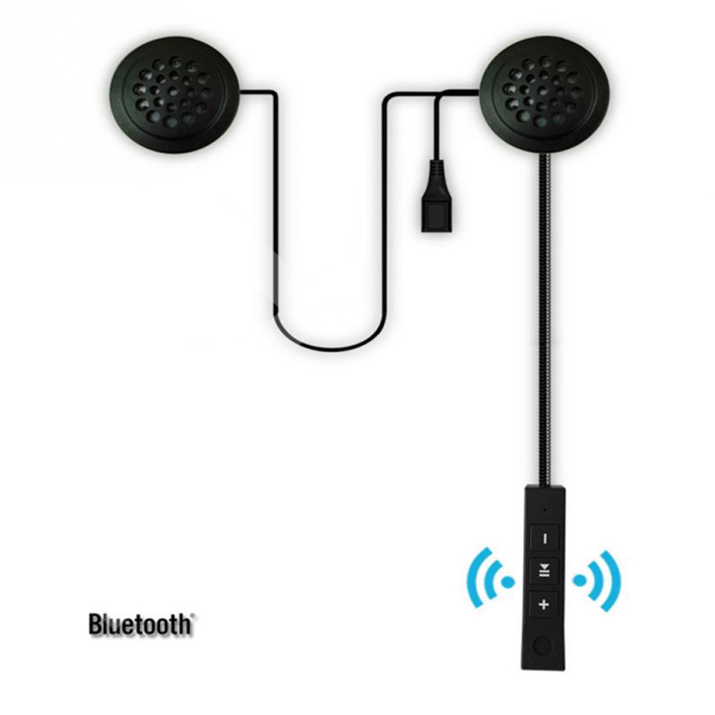 Motorbike Bluetooth4.1 Anti-interference Earphone Strong Bass Motorcycle Helmet Riding Hands Free Headphone