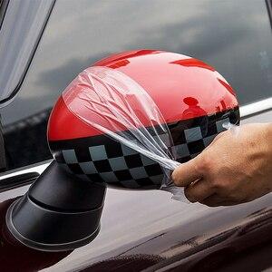 Image 4 - اكسسوارات السيارات التصميم الخارجي لسيارة ميني كوبر F54 F55 F56 F57 F60 سيارة مرآة الرؤية الخلفية ملصق مزخرفة غطاء حامي