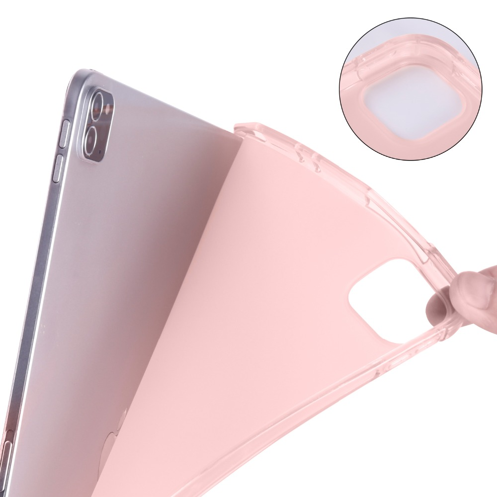 Stand with Case Cover for For iPad Holder 4th iPad 9 Shockproof 12.9 Pencil 12 Case Pro