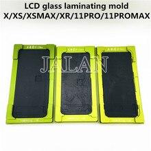 X/xs/xs最大/xr/11pro/11Pro最大のlcd表示画面ガラスポジショニングラミネートモールドを必要はありませんフレックスケーブル