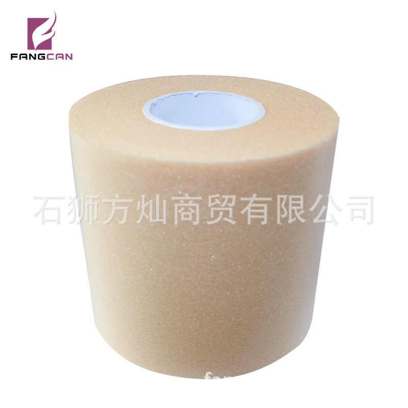 Cilt filmi bandaj köpük pamuk Kinesio bantlama taban sünger PU köpük pamuk bandaj esneklik dizkapağı badminton raketi