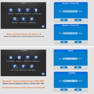 Image 5 - Проводной видеодомофон Homefong, монитор с 10 дюймовым сенсорным экраном, поддержкой AHD, дверной звонок, уличная камера с подключением, записью обнаружения движения