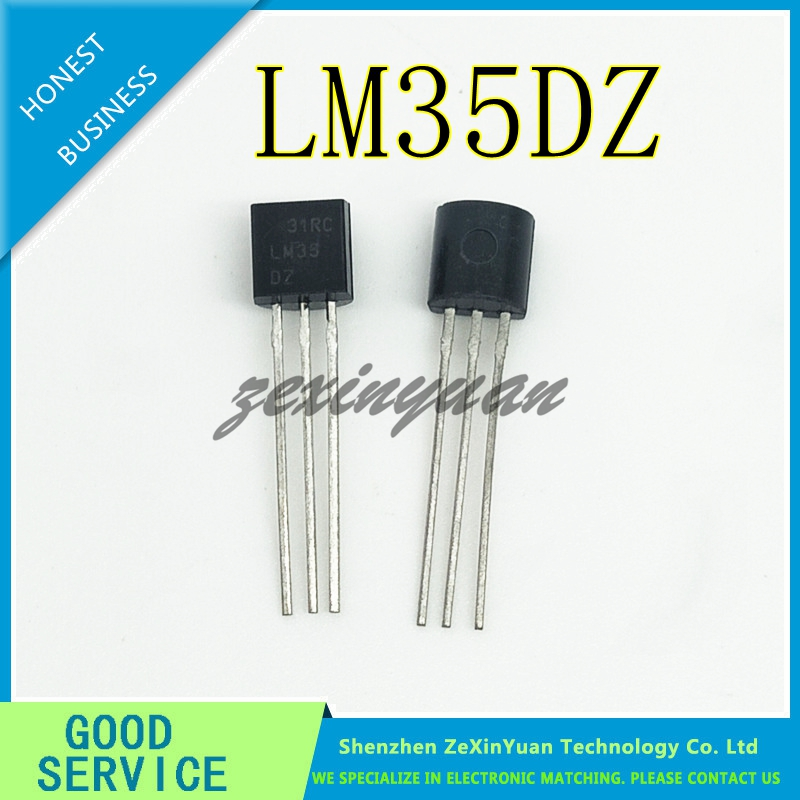5PCS/LOT  LM35D LM35 LM35DZ TO-92 Sensors IC