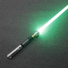 Sable de luz desmontable para Cosplay con USB, recargable, Sith Luke Force, sable de luz Arena, duelo, espada de Metal, Golw in the Dark, juguetes para niños