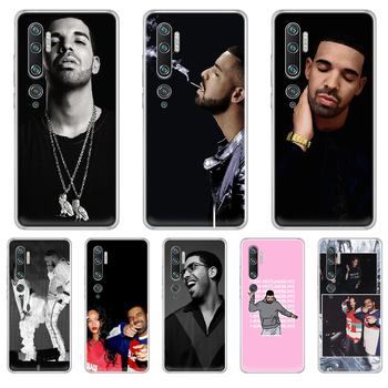 Rapper Aubrey Drake Graham Phone Case cover hull For XIAOMI MI 3 4 5 5X 8 9 10 se max pro a2 9T note lite transparent back tpu image