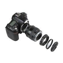Juego de protección de adaptador inverso de lente de cámara Macro para Nikon D80 D90 D3300 D3400 D5100 D5200 D5300 D5500 D7000 D7100 D7200 D5 D610
