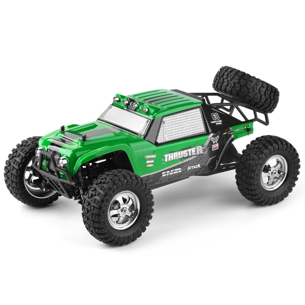 LeadingStar HBX 12889 1:12 4WD 2.4G RC Car Thruster Drift LED <font><b>Light</b></font> Remote Control Desert <font><b>Truck</b></font> Off-road image