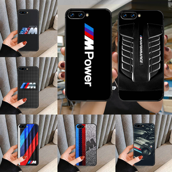 Luxury Sport Car Bmw M Phone Case For HUAWEI honor nova 5 7 8 9 10 20 30 A C T I X Lite Pro black Etui fashion cover tpu image