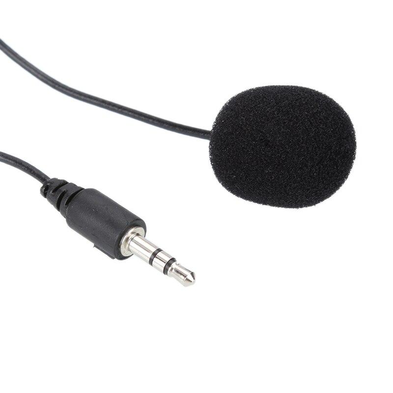 Новинка 2019 Мини Lavalier Mic 3,5 мм Джек зажим для галстука микрофоны смарт-телефон Запись ПК клип на лацкане для говорения пения речи