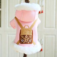 Одежда для домашних животных Осень зима теплая толстовка утепленная