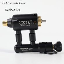 цены Professional Mini Rocket D4 Adjustable Direct Drive Rotary Tattoo Machine Liner And Shader Tattoo Gun Free Shipping