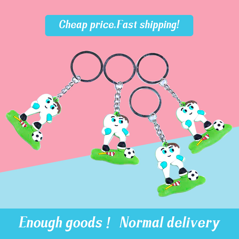 1pcs Dental Football Keychain Dentist Decoration Tooth Model Shape Dental Clinic Gift Dental Accessories