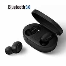 A6S Tws Oordopjes Bluetooth 5.0 Oortelefoon Stereo Draadloze Headset Led Display Met Mic Handsfree Oordopjes Voor Xiaomi Redmi Airdots