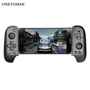 Controlador sem fio bluetooth gamepad joystick para iphone samsung xiaomi huawei para ios android controlador do telefone móvel gamepad
