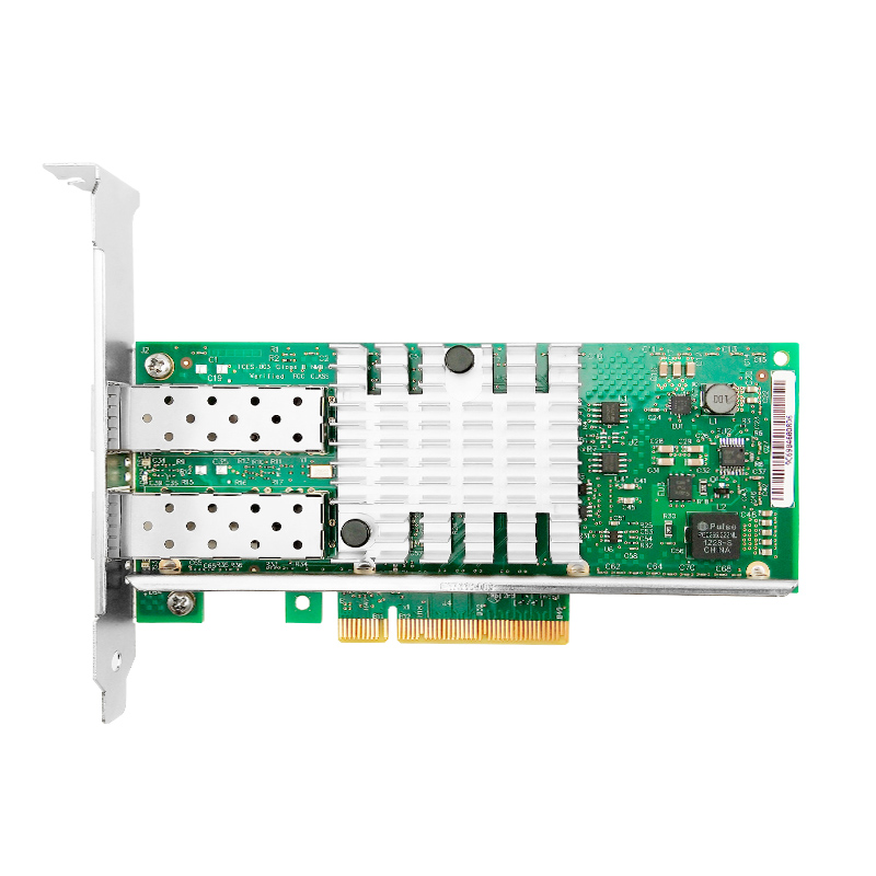 X520-SR2 Intel 82599ES Chip 10G Network Card with 2 SFP+ Transceiver Dualport PCIe 2.0 X8(China)