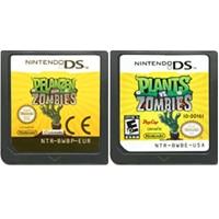 DS لعبة خرطوشة بطاقة وحدة التحكم النباتات مقابل الكسالى اللغة الإنجليزية لنينتندو DS 3DS 2DS