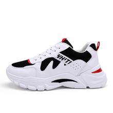 цена на Men's sneakers casual shoes spring and summer 2019 new wear-resistant anti-skid trend white shoes