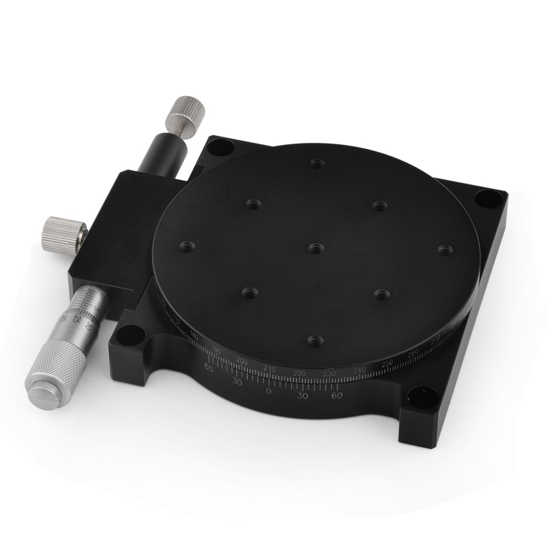 Precision Angle Platform RS40 Cross Rail Manual Displacement Slider for Precision Rotary Slider of Indexing Plate