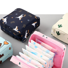 Organizer Pouches Earphone Storage-Bag Lipstick-Key Makeup Data-Cables Sanitary-Pad Waterproof Tampon