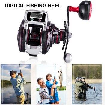 Spin Fishing Reel Fish Wheel Digital Display Metal Smooth Bearing Accessories Parts H7JP