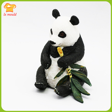 LXYY MOULD New Forest Animal Panda Silicone Mold Bamboo Candle MoldS