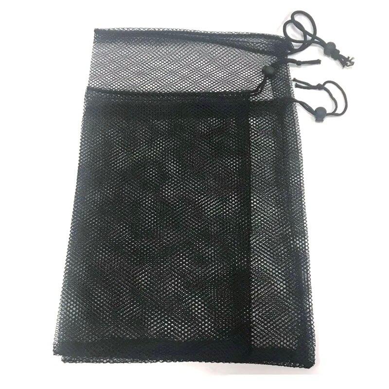 Aquarium Filter Mesh Net Bag Acuario Pond Filter Mesh Bag For Bio Ball Carbon Media Aquarium Fish Tank Isolation Bags Black 2pcs