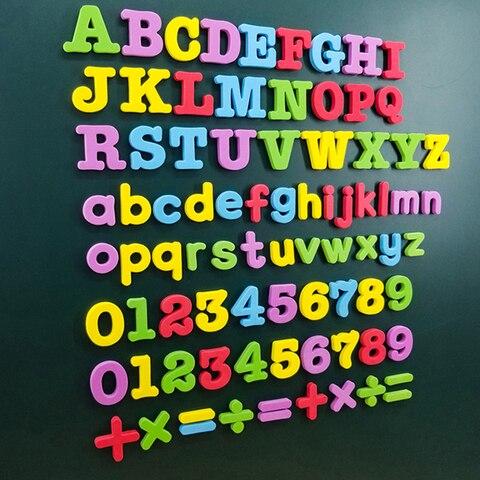letras magneticas digito alfabeto eva ima macio adesivo geladeira sala de aula quadro branco gadget