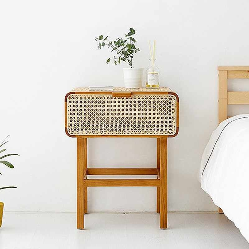 south korea ins real rattan solid wood