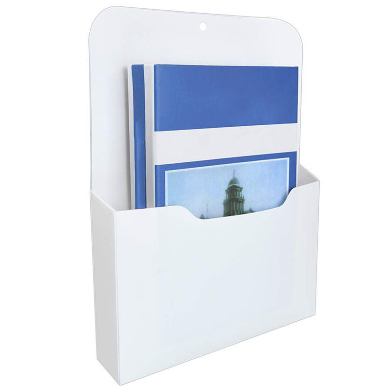 Magnetic File Holder - Magnetic Paper Holder, Pocket Organizer Office Supplies Storage Mail Organizer For Notebooks,Letter