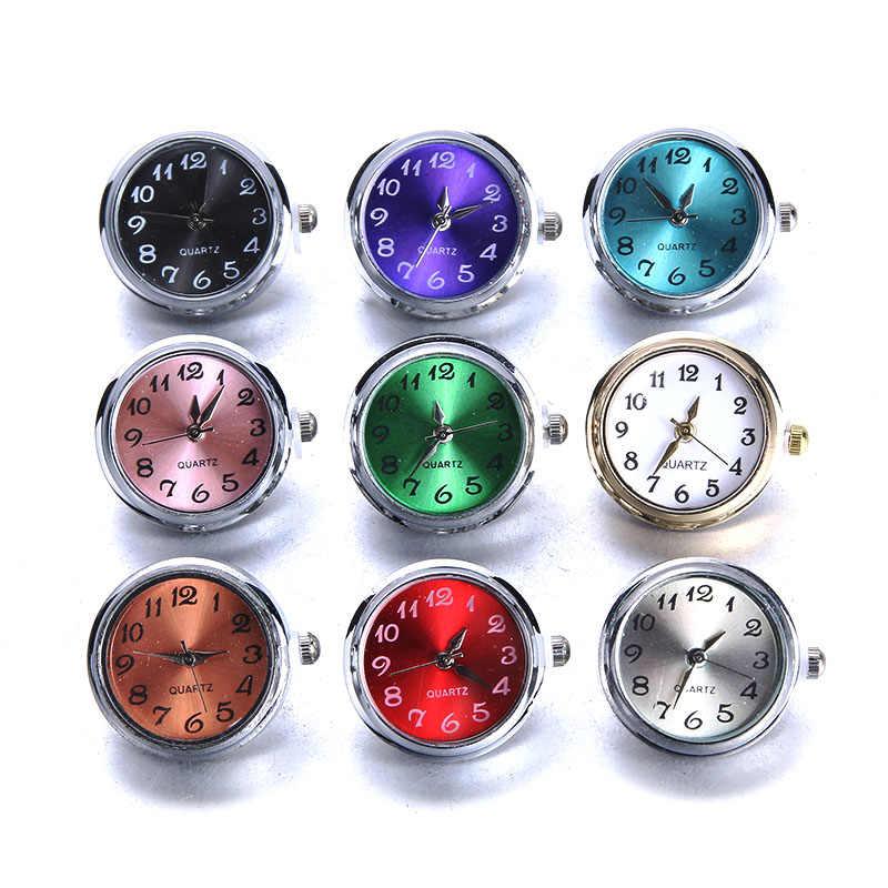 הצמד DIY תכשיטי 18mm זכוכית שעון הצמד כפתורים להחלפה תכשיטי אבזר הצמד כפתור תכשיטי עבור מצליפה צמיד