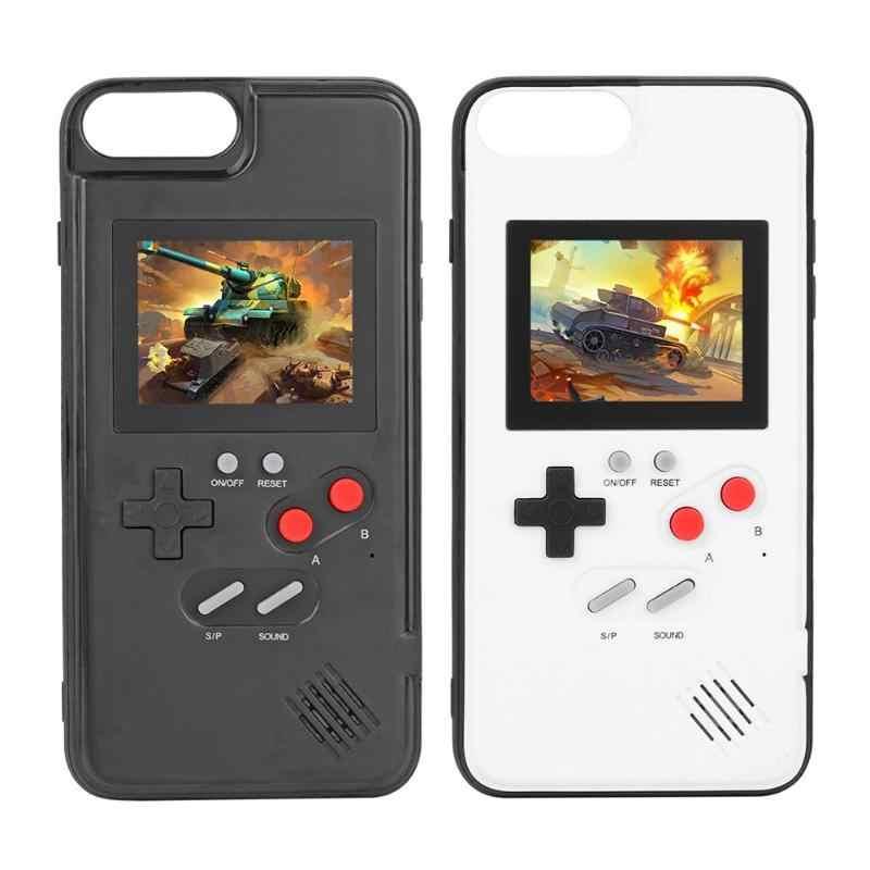 2 в 1 полноцветный дисплей чехол для IPhone X XR рамка Ретро игровой 6 P/7 P/8 P