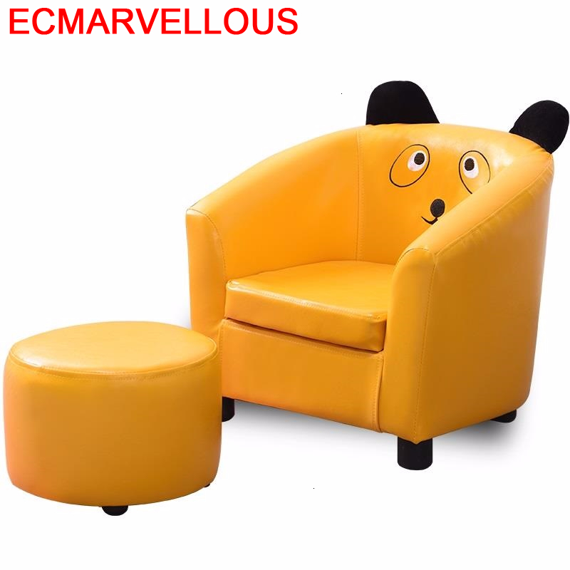 Child Divan Prinses Stoel Small Canape Kids Chair Chambre A Coucher Enfant Dormitorio Baby Infantil Children Children's Sofa